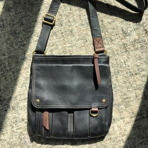 Fossil Cross Body Leather Purse